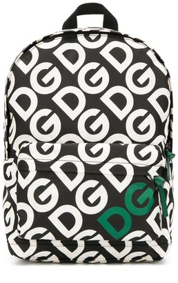 Dolce & Gabbana all-over logo backpack