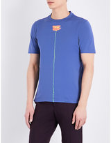 Paul Smith Skinny Petal Cotton-jersey T-shirt