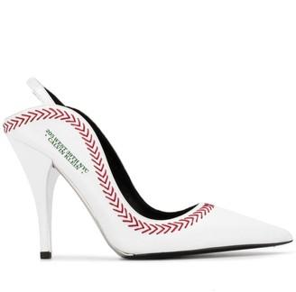 Calvin Klein Jackie Baseball pumps