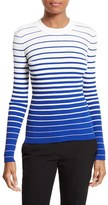 Milly Women's Degrade Stripe Top