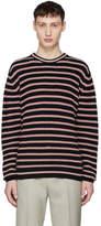 Harmony Navy Striped Warrick Sweater