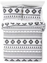 Xhilaration Printed Comforter Black&White