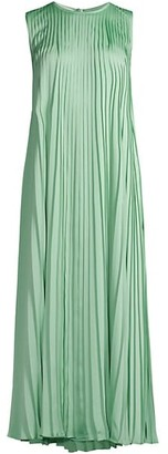 Lafayette 148 New York Willow Pleated Midi Dress