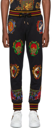 Dolce & Gabbana Black Stemmi Lounge Pants