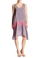 Plenty by Tracy Reese Embroidered Easy Sleeveless Dress