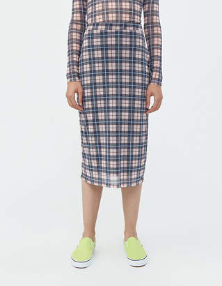 Which We Want Grace Check Skirt