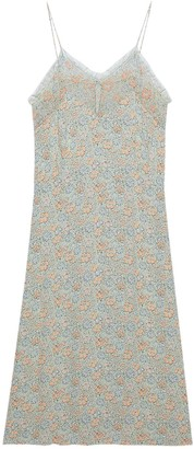 Gucci Liberty floral slip dress