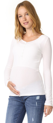 Ingrid & Isabel Long Sleeve Henley