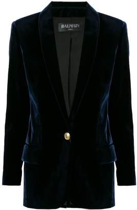 Balmain tailored buttoned logo blazer