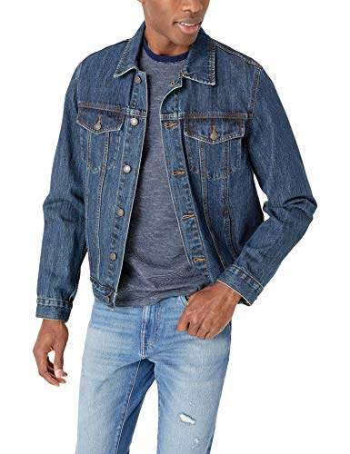 7a35890d96d2 Mens Classic Denim Jacket - ShopStyle