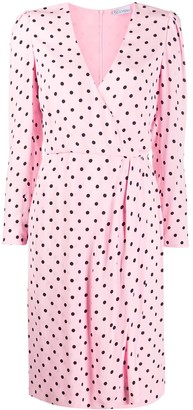 RED Valentino Polka Dot Print Dress