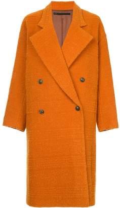 Muller of Yoshio Kubo Muller Of Yoshiokubo Curly wool coat