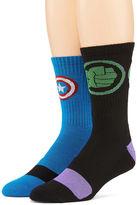 Marvel Avengers 2-pk. Athletic Crew Socks