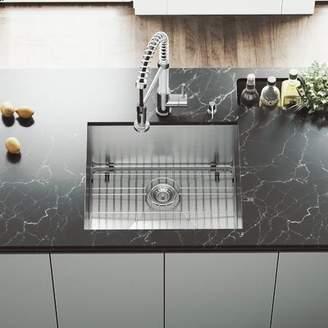 "Ludlow VIGO 21"" L x 18"" W Undermount Kitchen Sink VIGO"