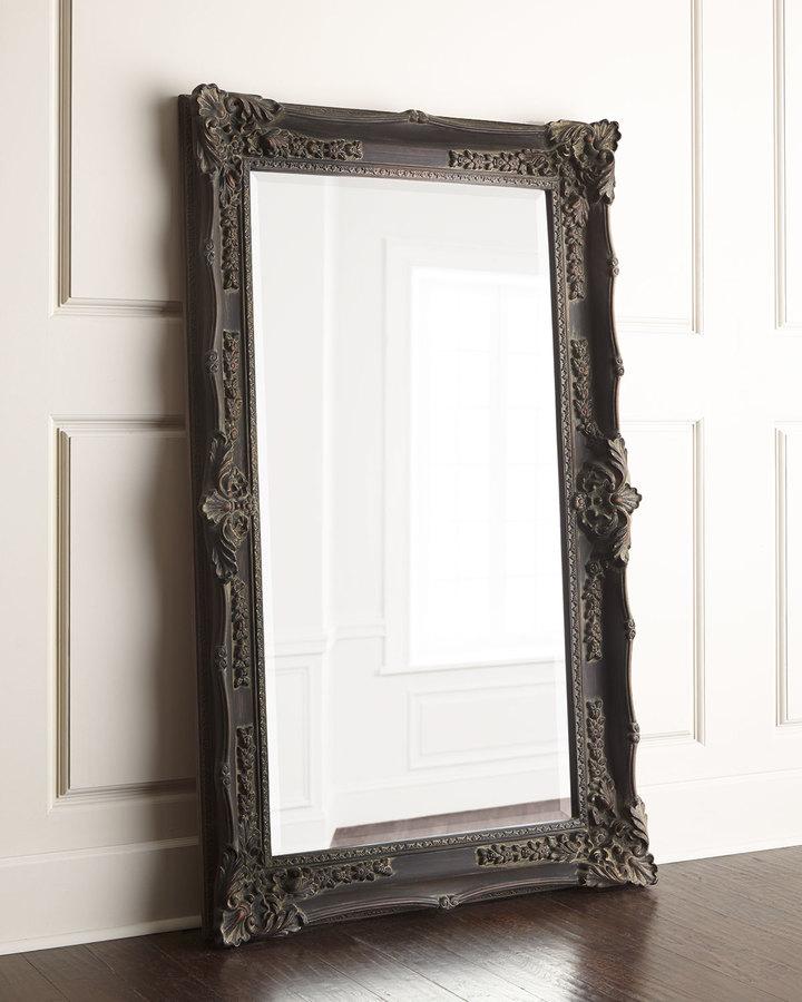 "Horchow ""Antique French"" Floor Mirror"