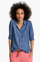 Cloth & Stone Slouchy Chambray Shirt