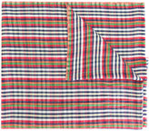 Etro checked scarf - men - Silk/Linen/Flax/Cashmere - One Size