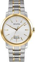 Bulova 40mm Men's Two-Tone Bracelet Watch