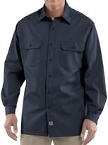Carhartt Twill Work Shirt - Button-Up, Long Sleeve (For Big Men)