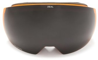 Zeal Optics Portal Xl Interchangeable-lens Ski Goggles - Black Orange