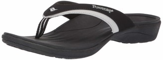 Powerstep Womens Fusion Flip-Flop Sandals Orthotic Sandal with Built-in Arch Support for Plantar Fasciitis and Flat