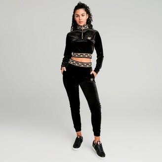 SikSilk Women's Velour Jogger Pants