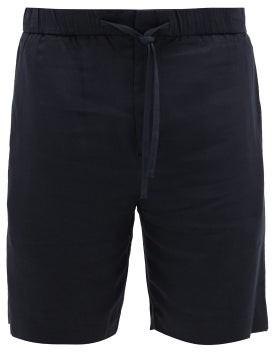 Frescobol Carioca Sport Tencel Shorts - Mens - Navy
