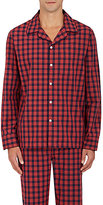 Sleepy Jones Men's Henry Checked Cotton Pajama Top