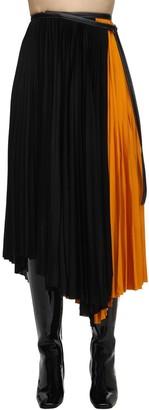 Proenza Schouler Pleated Viscose Jersey Midi Skirt