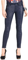 GUESS Jeans, Brittney Metallic Skinny Leggings