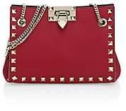 Valentino Women's Garavani Mini Rockstud Leather Shoulder Bag