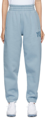 Alexander Wang Blue Foundation Terry Lounge Pants