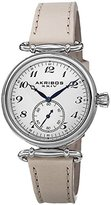 Akribos XXIV Women's AK704TN Impeccable Stainless Steel Watch with Leather Strap