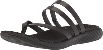 Merrell Women's Duskair Seaway Post Leather Sandal