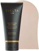 Skin-Perfecting Self-Tanner + Tanning Mitt