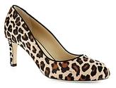 Hobbs London Sophia Leopard Calf Hair Court Pumps