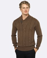 Oxford Felix Shawl Collar Pullover