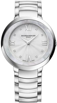 Baume & Mercier Promesse Stainless Steel Bracelet Watch