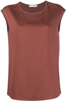 Fabiana Filippi Embellished Vest Top