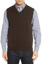 Nordstrom Cashmere V-Neck Sweater Vest (Regular & Tall)
