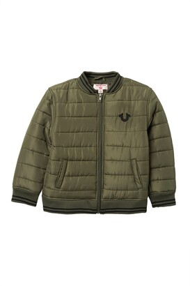 True Religion Quilted Bomber