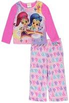 """Shimmer and Shine Little Girls' Toddler """"Magic Carpet"""" 2-Piece Pajamas"""