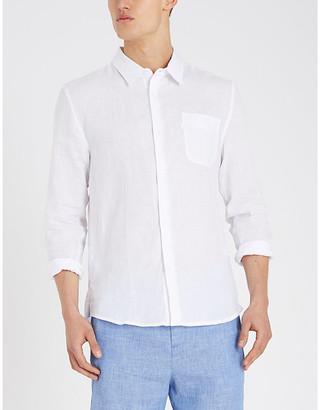 Derek Rose Monaco relaxed-fit linen shirt