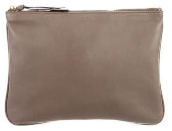 Givenchy Leather Flat Pouch w/ Tags