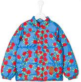 Mini Rodini rose print padded jacket