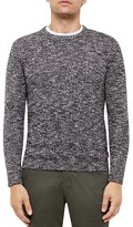Ted Baker Marled Knit Crewneck Sweater