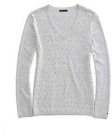 Tommy Hilfiger Women's Classic Studded Dot Sweater
