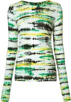 Proenza Schouler tie-dye longsleeved T-shirt - women - Cotton - L