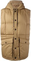 Golden Goose Deluxe Brand oversized padded gilet - men - Cotton/Polyamide/Polyurethane/Goose Down - S