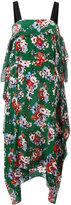 MSGM floral print dress - women - Silk - 42